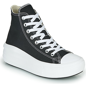 Chaussures Femme Baskets montantes Converse Chuck Taylor All Star Move Canvas Color Hi Noir