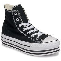Chaussures Femme Baskets montantes Converse Chuck Taylor All Star Platform Eva Layer Canvas Hi Noir