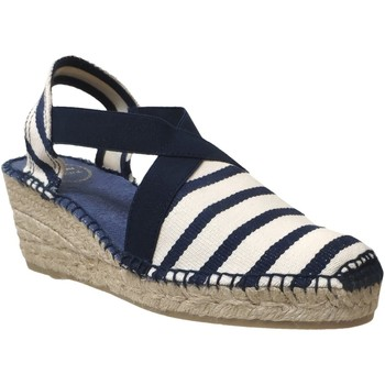 Chaussures Femme Espadrilles Toni Pons Tarbes Marine/ecru