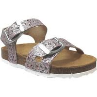 Chaussures Fille Sandales et Nu-pieds Plakton Lisa Gris rose