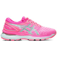 Chaussures Femme Running / trail Asics Chaussures femme  Gel-Nimbus 22 rose puissant/gris