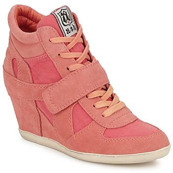 Chaussures Femme Baskets montantes Ash BOWIE Rose pastel