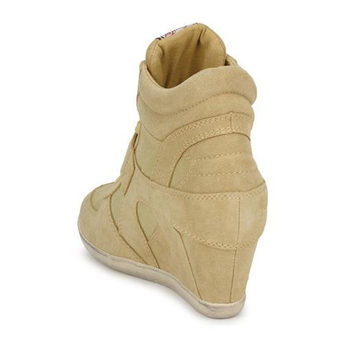 Ash Jaune Baskets Bowie Pastel Montantes Femme EY9De2WHI