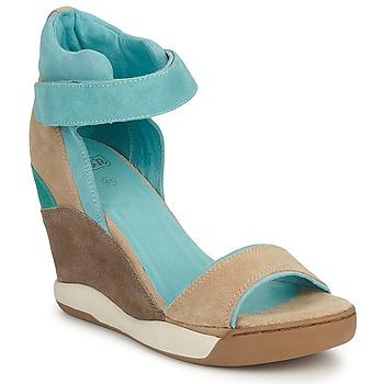 Chaussures Femme Sandales et Nu-pieds Ash ELOISE Marron / Bleu