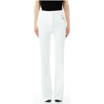 Vêtements Femme Pantalons Liu Jo PANTALONE BOOT CUT x0256-star-white