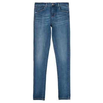 Vêtements Fille Jeans slim Only KONRACHEL Bleu