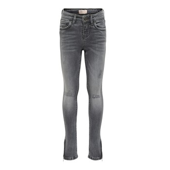 Vêtements Fille Jeans slim Only KONKENDEL Gris