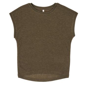 Vêtements Fille T-shirts manches courtes Only KONSILVERY Noir