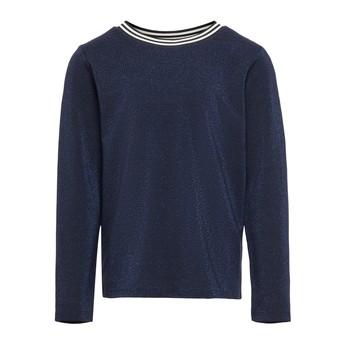 Vêtements Fille T-shirts manches longues Only KONATHEA Marine