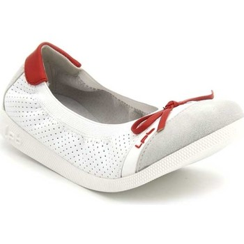 Chaussures Fille Ballerines / babies Les Petites Bombes J-Eloise rouge