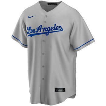 Vêtements T-shirts manches courtes Nike Maillot de Baseball MLB Los An Multicolore