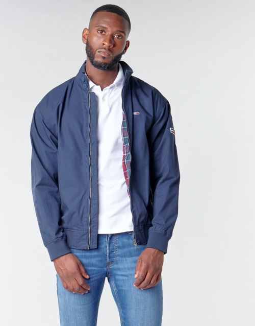 Vêtements Homme Blousons Tommy Jeans TJM CUFFED COTTON JACKET Marine