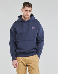 Vêtements Homme Sweats Tommy Jeans TJM TOMMY BADGE HOODIE Marine
