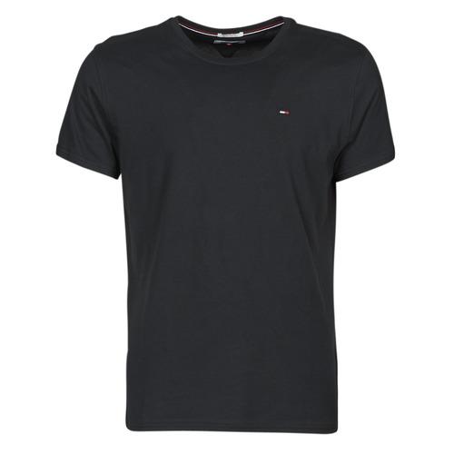 Vêtements Homme T-shirts manches courtes Tommy Jeans TJM ORIGINAL JERSEY TEE Noir
