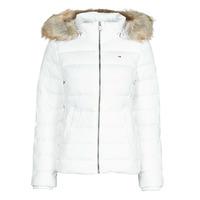 Vêtements Femme Doudounes Tommy Jeans TJW BASIC HOODED DOWN JACKET Blanc