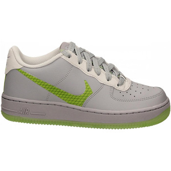 Chaussures Femme Fitness / Training Nike AIR FORCE 1 LV8 white-fluo