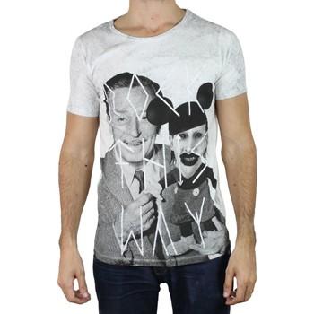 Vêtements Homme T-shirts manches courtes Kebello T-shirt manches courtes Taille : H Gris M Gris