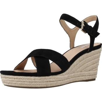 Chaussures Femme Espadrilles Geox D SOLEIL A Noir