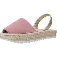 Chaussures Fille Espadrilles Ria 21920 2 Rose