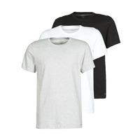 Vêtements Homme T-shirts manches courtes Calvin Klein Jeans CREW NECK 3PACK Gris / Noir / Blanc
