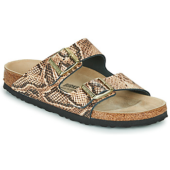 Chaussures Femme Mules Birkenstock ARIZONA Beige