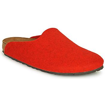 Chaussures Femme Sabots Birkenstock AMSTERDAM Rouge