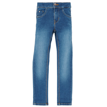 Vêtements Fille Jeans slim Name it NKFPOLLY Bleu Medium