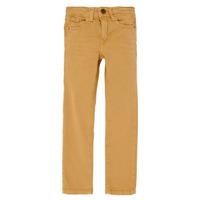 Vêtements Garçon Jeans slim Name it NKMTHEO Camel