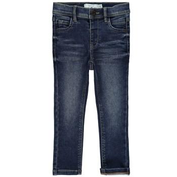 Vêtements Fille Jeans slim Name it NMFPOLLY Bleu