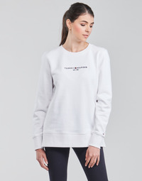 Vêtements Femme Sweats Tommy Hilfiger TH ESS HILFIGER C-NK SWEATSHIRT Blanc