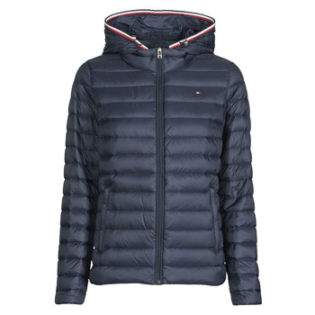 Vêtements Femme Doudounes Tommy Hilfiger TH ESSENTIAL LW DWN PACK JKT Marine