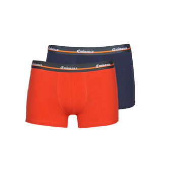 Sous-vêtements Homme Boxers Eminence DUO TRAVEL Orange / Marine