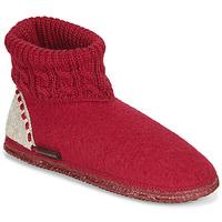 Chaussures Femme Chaussons Giesswein FREIBURG Rouge