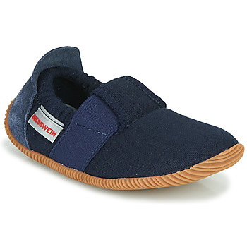 Chaussures Enfant Chaussons Giesswein SOLL Marine