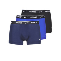 Sous-vêtements Homme Boxers Nike EVERYDAY COTTON STRETCH Noir / Marine / Bleu