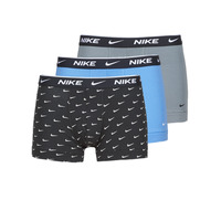 Sous-vêtements Homme Boxers Nike EVERYDAY COTTON STRETCH Noir / Gris / Bleu