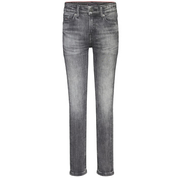 Vêtements Garçon Jeans skinny Tommy Hilfiger SIMON SUPER SKINNY Gris