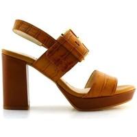 Chaussures Femme Sandales et Nu-pieds Gadea MAD 1121 Marron