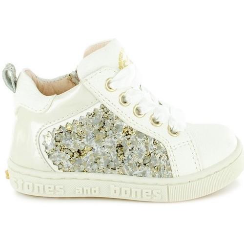 Chaussures Fille Boots Stones And Bones 4315 GARA Beige