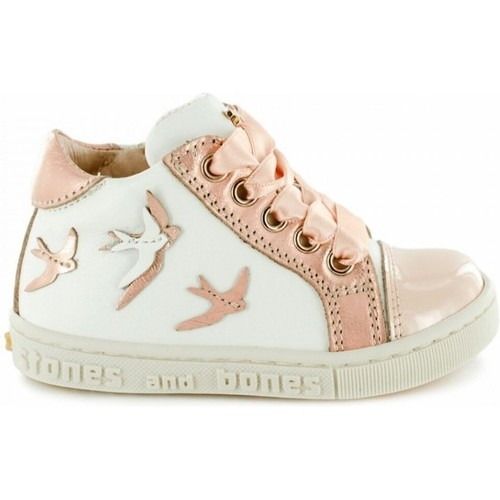 Chaussures Fille Boots Stones And Bones 4281 SUAL Beige
