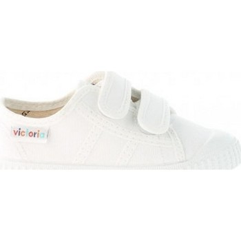 Chaussures Fille Baskets basses Victoria 136606 BLANCO BASKETS blanc