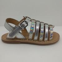 Chaussures Fille Sandales et Nu-pieds Little Mary 55500102 BARBADE Argenté