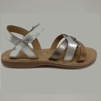 Chaussures Fille Sandales et Nu-pieds Little Mary 55501100 LIGHT Argenté