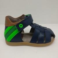 Chaussures Garçon Sandales et Nu-pieds Stones and Bones 4382 MISE bleu