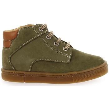 Chaussures Garçon Boots Babybotte ANTOINE KAKI vert