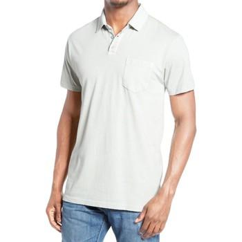 Vêtements Homme Polos manches courtes Kebello Polo uni Taille : H Blanc M Blanc