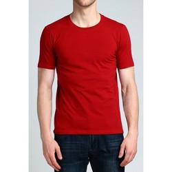 Vêtements Homme T-shirts manches courtes Kebello T-Shirt manches courtes H Rouge Rouge