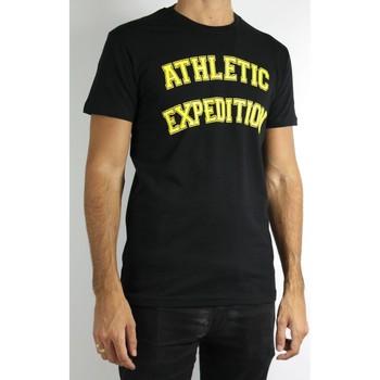 Vêtements Homme T-shirts manches courtes Kebello T-Shirt manches courtes Taille : H Noir M Noir
