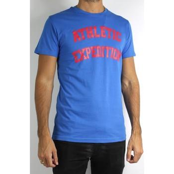 Vêtements Homme T-shirts manches courtes Kebello T-Shirt manches courtes H Bleu Bleu
