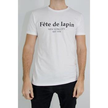 Vêtements Homme T-shirts manches courtes Kebello T-Shirt manches courtes H Blanc Blanc